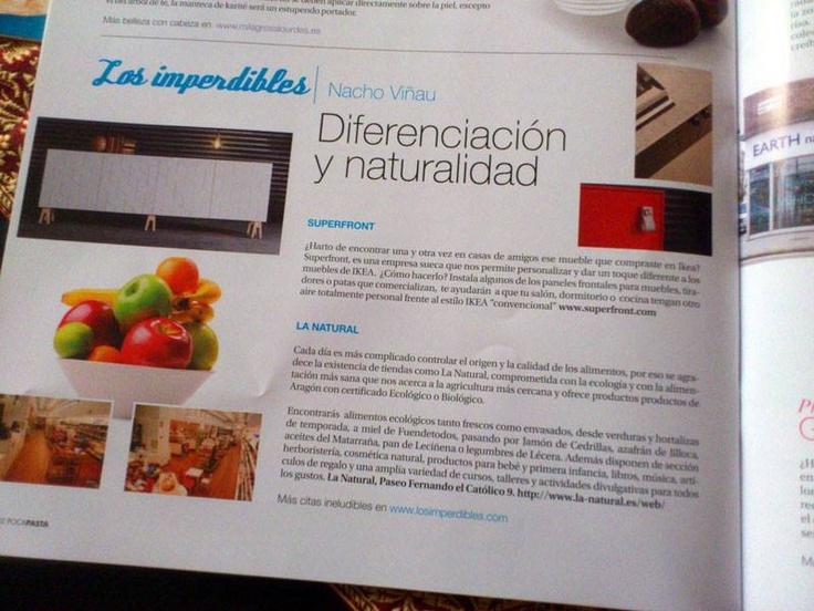 Mi colaboración en la revista Pocapasta del mes de mayo