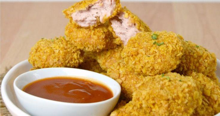 Preparar unos deliciosos nuggets de pollo al horno es muy fácil con esta receta.