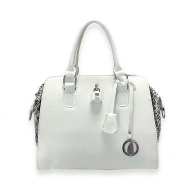 Zurich White Travel Bag