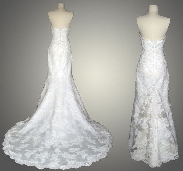 American Bustles Wedding Dress