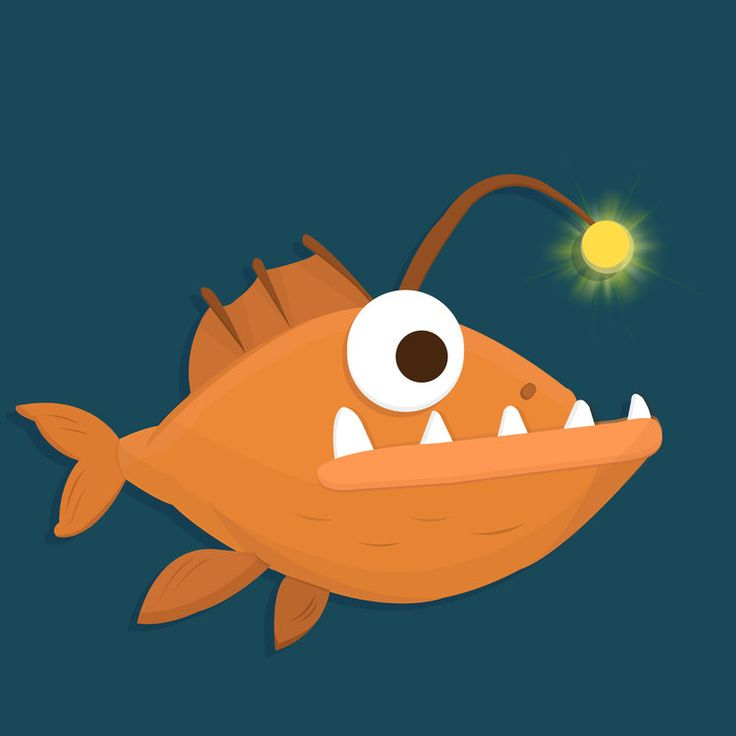 Selfie light. - Promotional post for OPPO A57. #fish #selfie #light #sea #animal #cute #memes #funny #creative #art #innovation #wanted #design #graphics #illustration #oppo #a57 #mediapost #emchengillustration #vector #simple