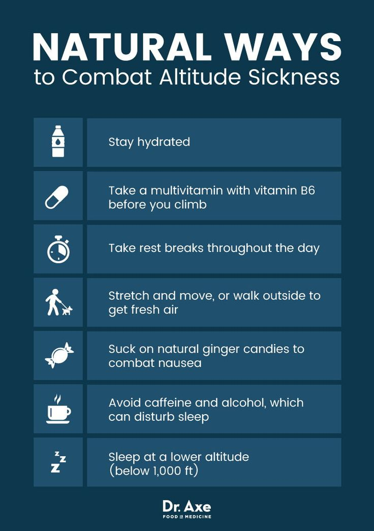 Natural Remedies To Avoid Altitude Sickness