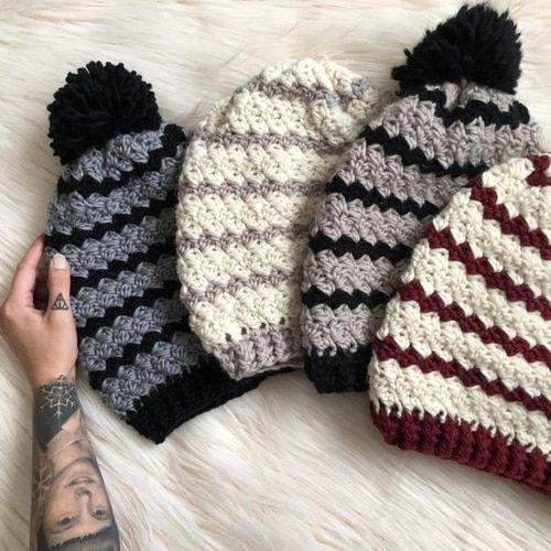 Piper Beanie Crochet Padrão | A loja de gancho de gancho