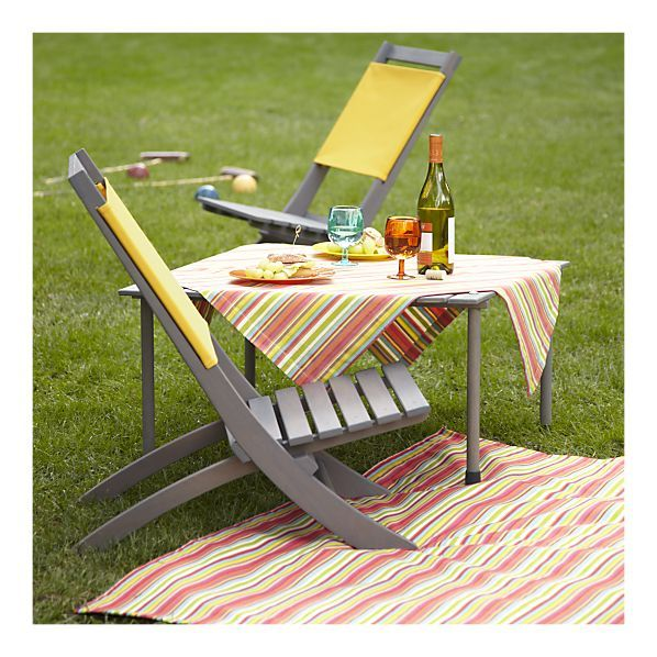 picnic table in a bag for beach, camping