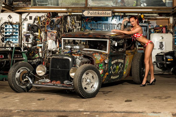 Fotografia Rat Rod de Jan Laugesen na 500px