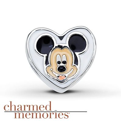 Charmed Memories Disney Mickey Mouse & Minnie Mouse Sterling Silver Charm form Kay Jewelers  (as of 2/9/2016)