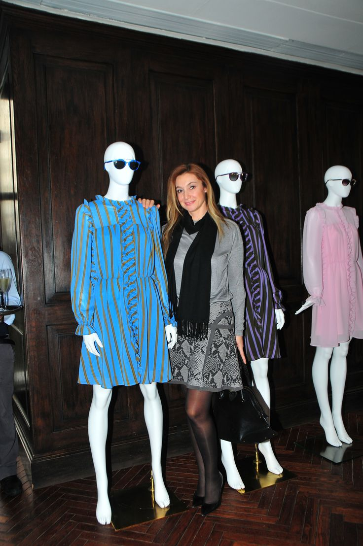 Alem editor in chief Zuhal Pirinccioglu at The PINKO Invasion event, Soho House, Istanbul
