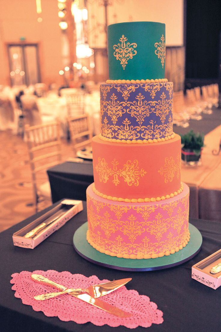 I love the colours of this cake ❤️