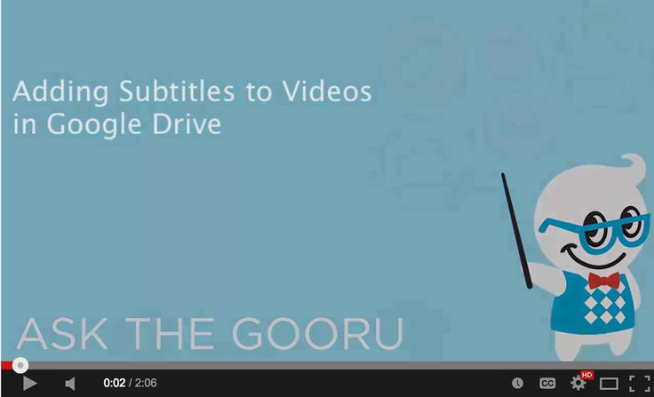 Easy Way to Add Subtitles to Videos in Google Drive ~ Educational Technology and Mobile Learning