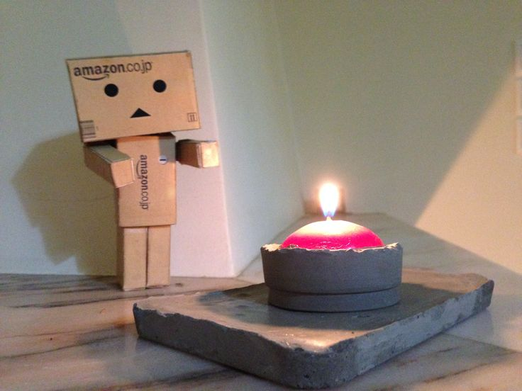 Concrete Candle -Danboard