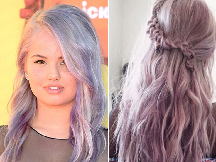 Wow! Debby Ryan's pretty lavender hair was the highlight of her Kids' Choice Awards look! The Disney star stepped out for the awards show on March 28 looking as striking as ever. Debby …