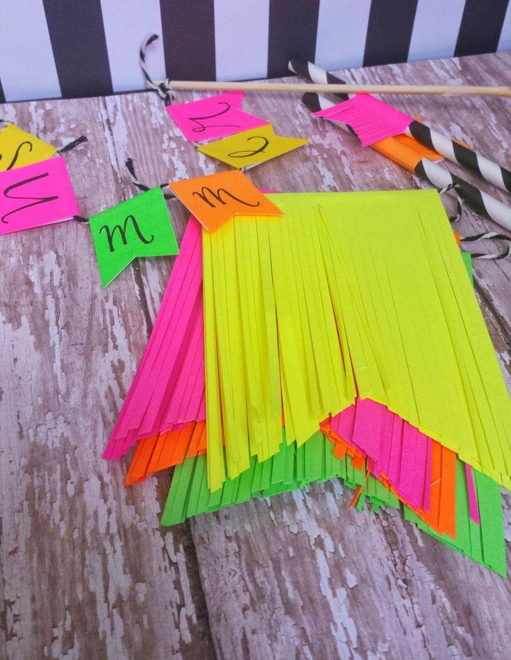 ... party decorations on Pinterest  Glow party decorations, Neon party
