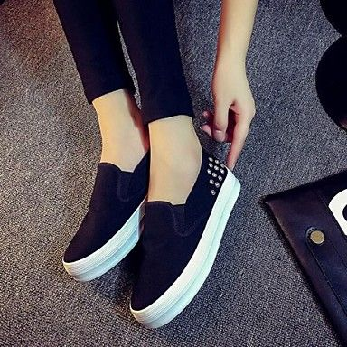 Women's Shoes Flange Rivet Leisure Platform Comfort Fashion Sneakers Outdoor / Casual 4746336 2016 – £16.39