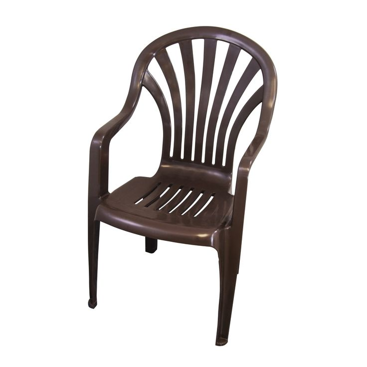 Brown Plastic Patio Chairs