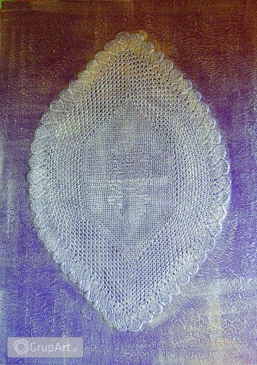Grupart.pl - fioletowa koronczarka - Na ścianę - Obrazy