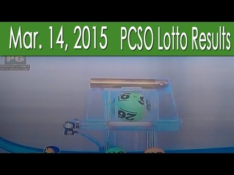 PCSO Lotto Results March 14, 2015 (6/55, 6/42, 6D, Swertres & EZ2) - (More info on: https://1-W-W.COM/lottery/pcso-lotto-results-march-14-2015-655-642-6d-swertres-ez2/)