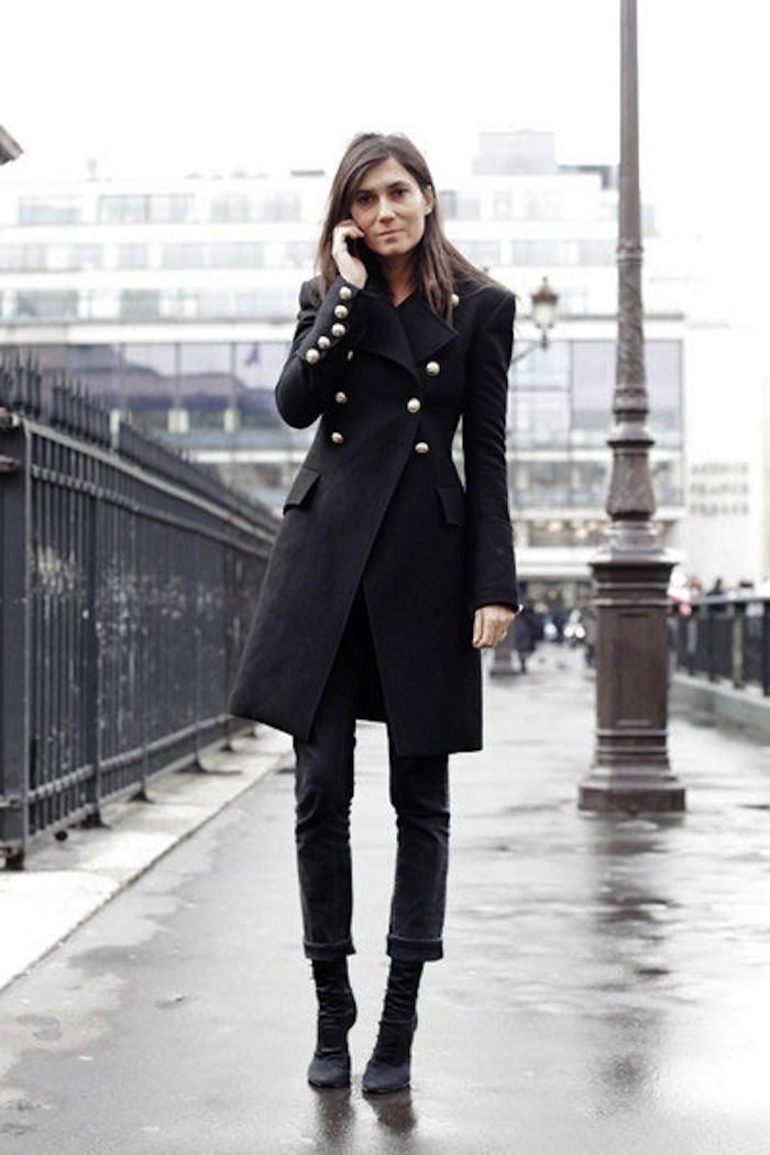 Emmanuelle Alt, the right way to do all black