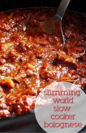 Slimming World Slow Cooker Bolognese – Blogtober Day #10