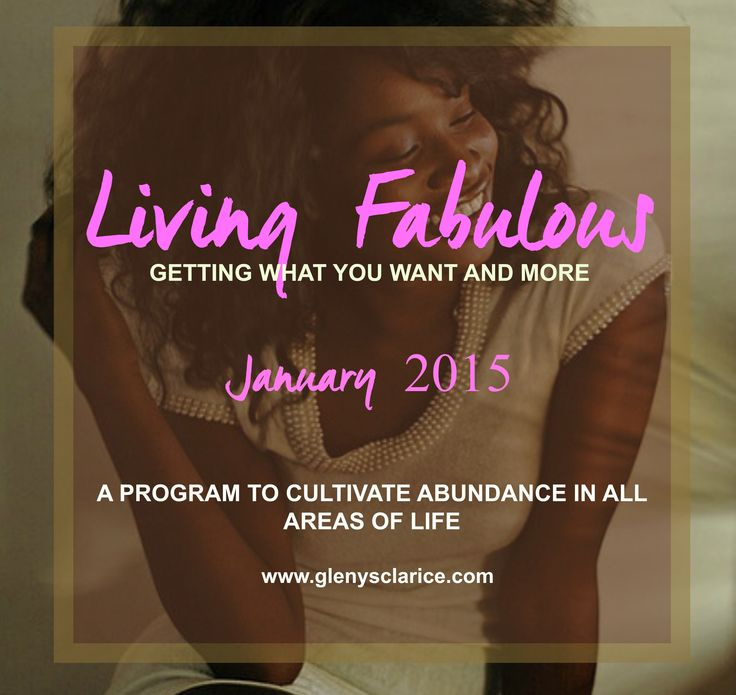 Want to LIVE FABULOUS in 2015? Join me!
