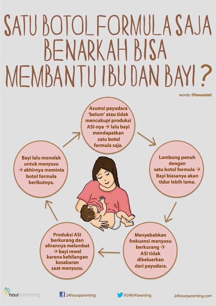Poster: 1 Botol Formula Saja, Benarkah Bisa Membantu Ibu dan Bayi?-- oleh @housniati >>