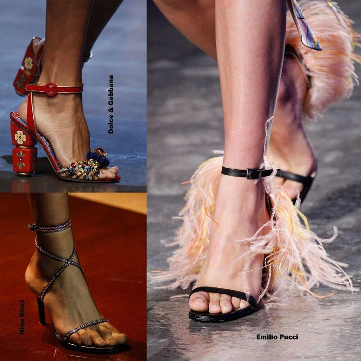 Shoe trends Spring 2016 - Ankle strapped / Cipő divat 2016 tavasz - Bokapántos