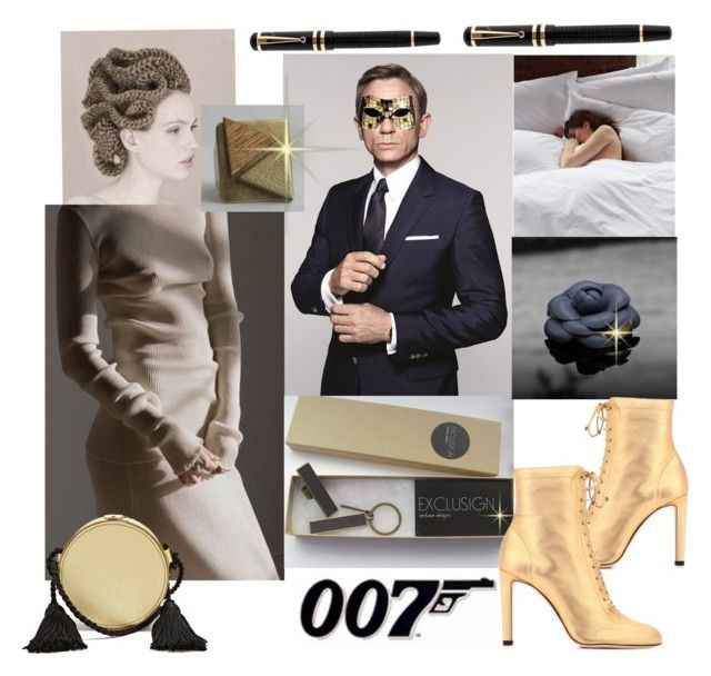 007 By Jusal08 On Polyvore Featuring Jimmy Choo Hillier Bartley Montblanc Masquerade James Bond 007 Get Lost And C Clothes Design Women Outfit Accessories