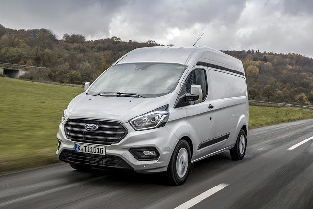 New Ford Transit Custom High Ceiling Introduction Ford Transit