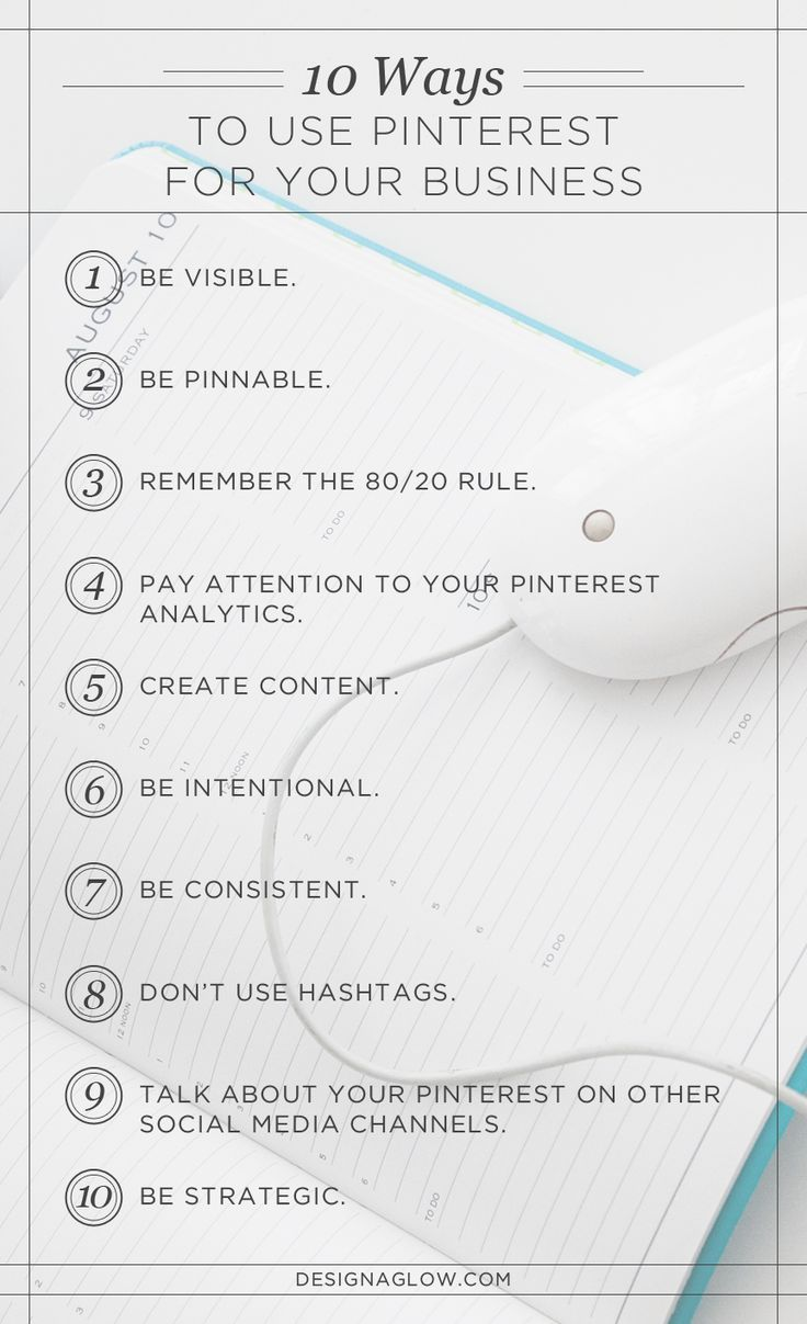 10 Ways to Use Pinterest for Your Photography Business