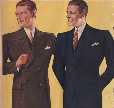 Art of Manliness Suit School: A Primer on Suit Buttons  #style
