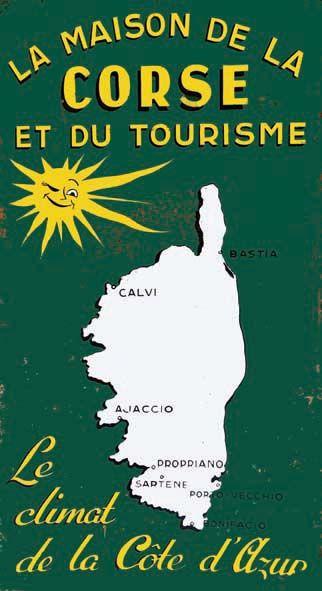 La Maison de la Corse et du Tourisme - Peinture sur Isorel