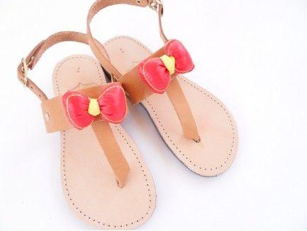 Bow Kids Sandals