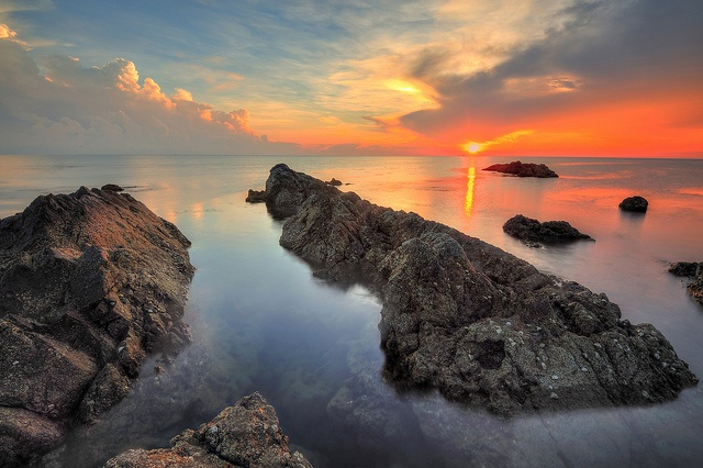 Sunrise at Pandak Beach, Kuala Terengganu. | Flickr - Photo Sharing!