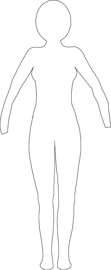 paper doll template woman - paper doll template woman the image kid