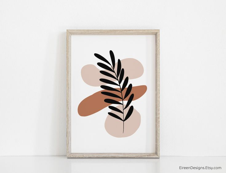 Small Canvas Art, Easy Canvas Painting, Diy Canvas Art, Diy Wall Art, Home Wall Art, Botanical Wall Art, Botanical Prints, Abstract Wall Art, Abstract Print