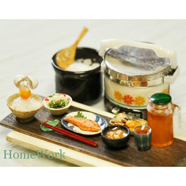 Japanese breakfast miniature