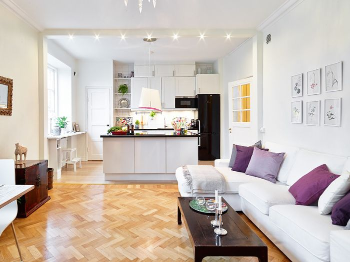 49 best Kitchen and Living Room Layout images on Pinterest