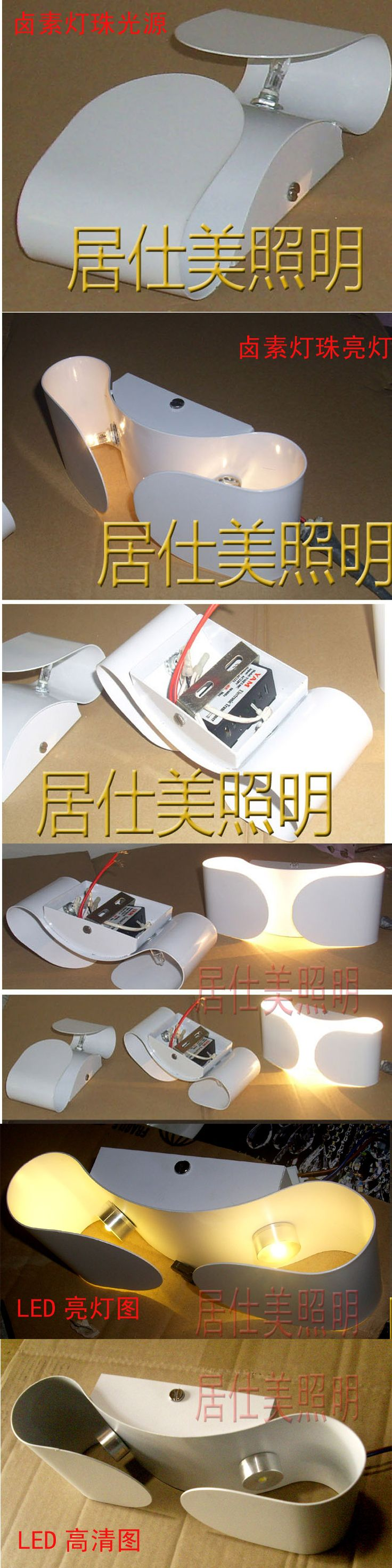 Modern bedside wall lamps - Free Shpping 12v 2w Bow Led Wall Lamps Modern Bedside Wall Lights Light Living Room Lamp