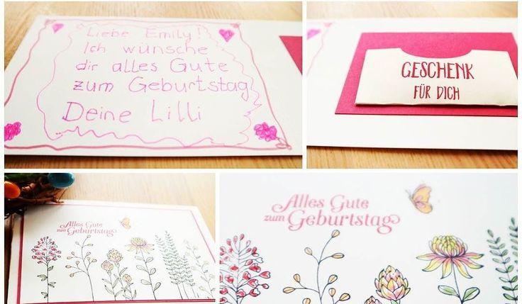 Eine Freundin meiner Tochter feiert heute Geburtstag. Gewünscht hat sie sich einen Müller-Gutschein. Die haben aber so eine 0815 Verpackung dass man die gar nicht weiter schenken möchte. Also mußte eine andere Gutschein Verpackung her die gleichzeitig auch eine Glückwunachkarte ist. #stampinup #geburtstag #cards http://ift.tt/2odINUH