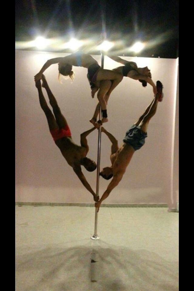We must try this at the studio! So cute! Come join our lovely pole family! Pink Lemon Studio located in St. Louis, MO http://www.pinklemonstudio.com/ 1-844-STL-POLE #poledance #poleart