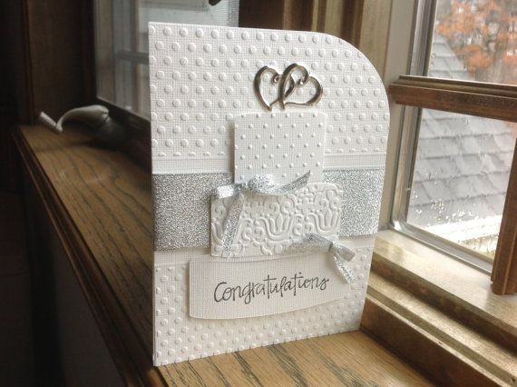 Wedding Congrats Hand Made Card and Envelope for by RaesPlace, $4.00