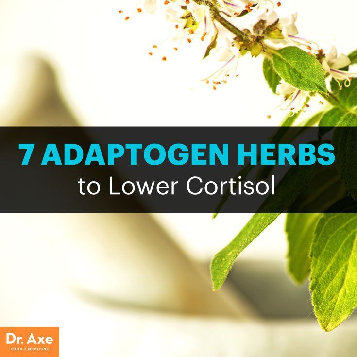 Herbal supplements to reduce cortisol