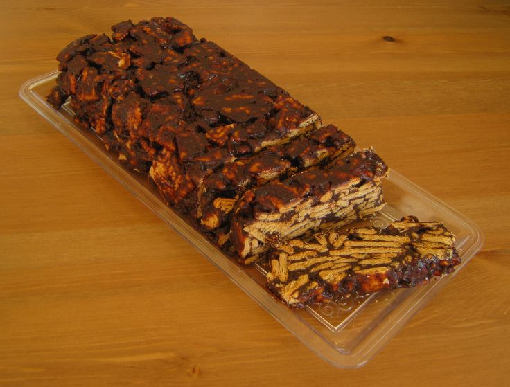 Vegan Mozaic – Doukissa, Non Baked Chocolate Biscuit Cake ala Greek style