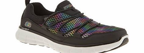Skechers Multi Synergy Star Quality Trainers Skechers continue their run of successful styles with the Synergy Star Quality, a sleek black man-made slip-on trainer that youre sure to love. Multi-coloured panels brighten, and a Memory Foam insole http://www.comparestoreprices.co.uk/womens-shoes/skechers-multi-synergy-star-quality-trainers.asp