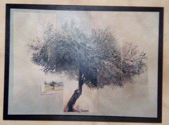 Rammos: olive tree (OIL PAINT)