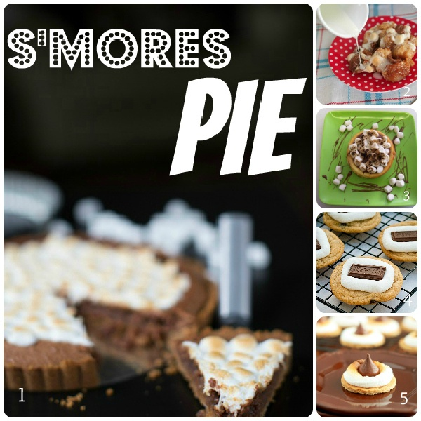 Five S'mores recipes for National S'mores day on August 10thDesserts Recipe, Delicious Desserts, Baking Yummy, Desserts Sweets Snacks, Food, Smores Pies Recipe, S More Pies, National S More, Bliss Domestic