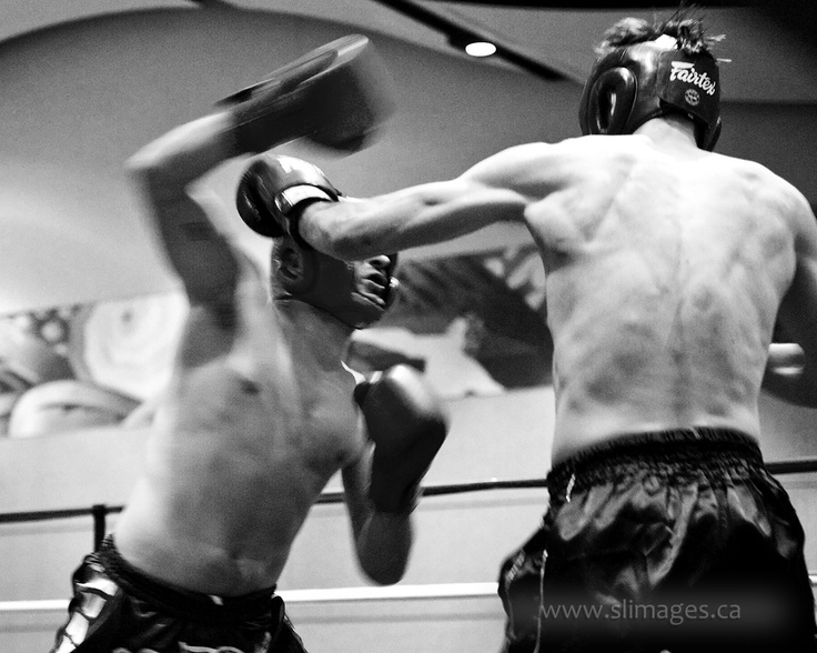 Nigel Guerin throwing a big overhand right in his match at the last Throwdown Gatineau against Kirill Levitski.    For more information about upcoming Muay Thai shows in the national capital region check out www.throwdown.ca