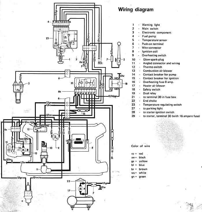 Eberspaecher Ba 4 Gas Heater Diagram Wire Gas Heater