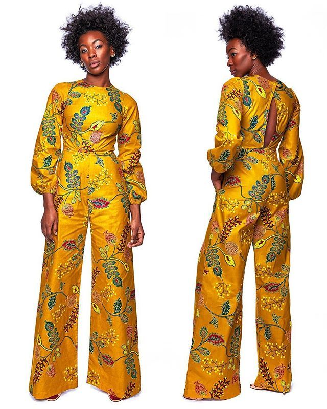 The Jacqueline Jumpsuit is sure to turn heads! • shop Onyii & Co.'s new A/W 2016 Collection at zuvaa.com ⭐️