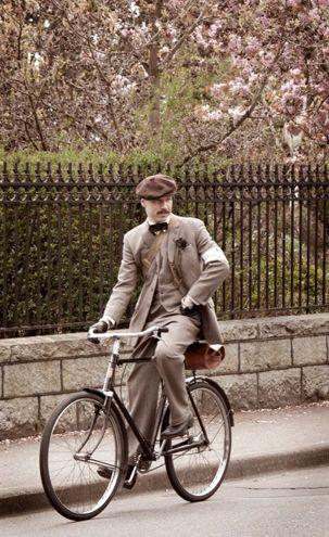 handsome men of Tweed Bike Ride, Vancouver BC
