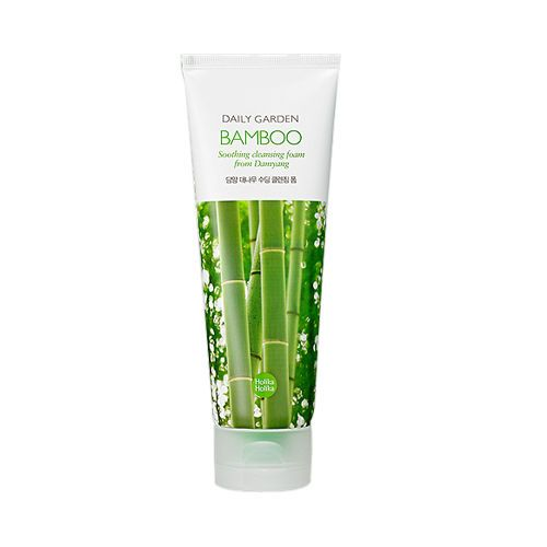 [Holika Holika] Daily Garden Bamboo Soothing Cleansing Foam - 120ml